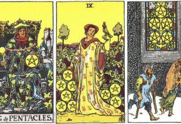 Interpretation und Bedeutung des Tarot: King of Pentacles