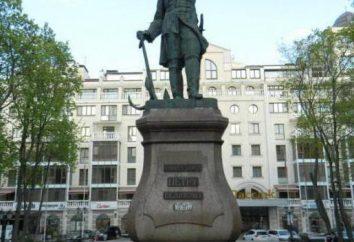 La storia del monumento a Pietro 1 a Voronezh