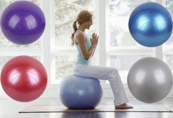 O que comprar uma bola de fitness? Exercício para perda de peso com uma bola de aptidão em casa: comentários de emagrecimento