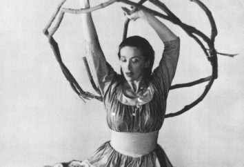 Tancerz i choreograf Martha Graham: biografia. Technika szkoły i tańca Martha Graham