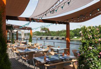 """restaurant """"Elagin"""" sur l'eau (Saint-Pétersbourg)"""