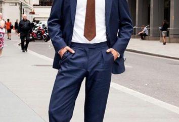 ¿Cómo elegir un traje azul de los hombres