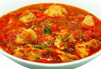 Chakhokhbili – una comida deliciosa de Georgia