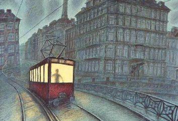 """Gumilev """"Strayed Straßenbahn"""": ein Gedicht Analyse"""