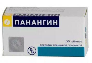 """Tabletki """"Panangin"""" od czego?"""