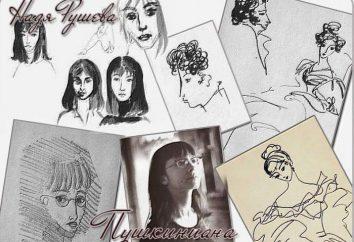 Nadia Rusheva: biografia, zdjęcia, obrazy, przyczyną śmierci