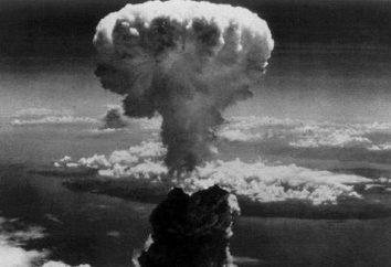 """Moc bomby zrzuconej na Hiroszimę. Pierwsza generacja jądrowy bomba """"Little Boy"""" i """"Fat Man"""""""