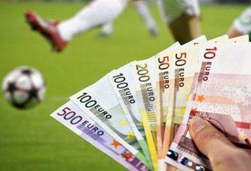 Gehalts Spieler in Russland und Europa