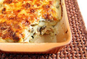 Ziemniaki z filetami z kurczaka w piecu: pyszne świąteczne potrawy!