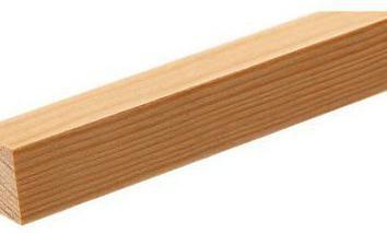 Qu'est-ce que le bois coupé?