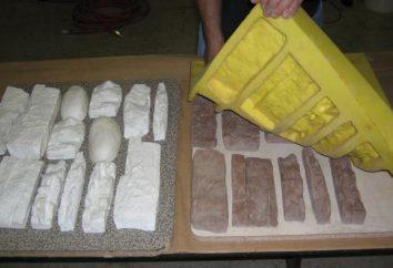Jakie są formy poliuretanowe do sztucznego kamienia. Formy poliuretanowe z rękami