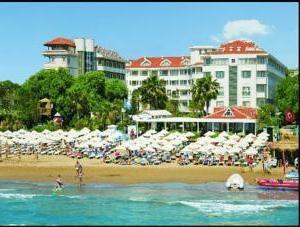"""hotel de Turquía Side """"Beach Side"""" ( """"Estrella"""") – una descripción y comentarios"""
