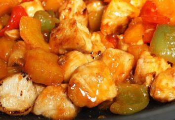 Frango com abacaxi em multivarka: receitas de pratos deliciosos