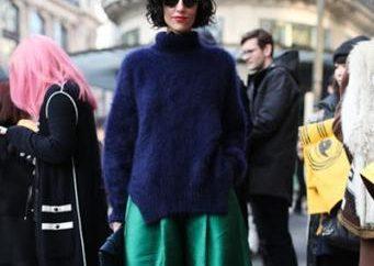 Que porter avec une jupe longue en été et en automne?