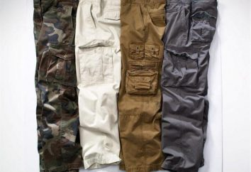 pantalones de carga de una manera moderna