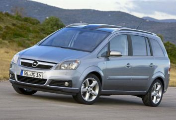 "Przegląd samochodu ""Opel Zafira-B"""