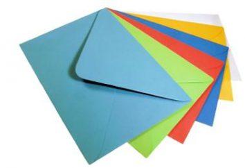 Imprimir envelope – formas e idéias para o presente