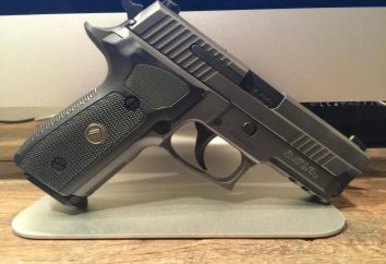 """Sig Sauer"" pistoletu (SIG Sauer): opis, charakterystyka, cel"