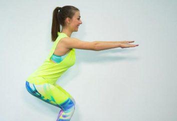 Agachamento: programa de 30 dias. exercício físico