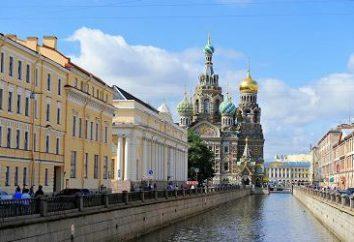 Gdzie iść w weekend w Petersburgu? Chodzenie w Petersburgu