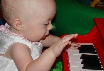 Comment développer la pensée logique chez un enfant par la musique d'enseignement