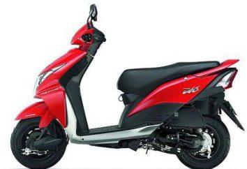 Scooter Honda Dio: wydajność, tuning, naprawa, zdjęcie