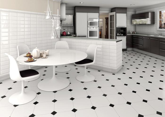Fußboden Schwarz Weiß ~ Schwarz weiß boden im innenraum wie berechnungen schwarz weiß