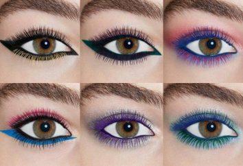 mascara de couleur: caractéristiques, types, fabricants et critiques
