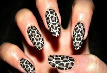 """Nail Design """"Leopard"""". Master class et la subtilité de l'exécution"""
