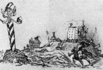 """Analiza """"Historia miasta"""" przez Saltykov-Szczedrina, podstawowej idei i tematu pracy"""
