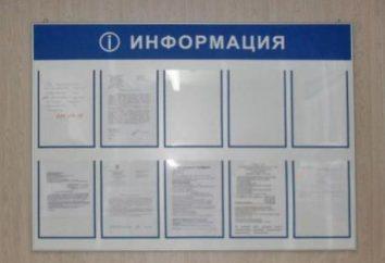 pared de paneles informativos y el piso
