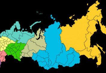 Wolga: die Zusammensetzung, Gebiete, Regionen