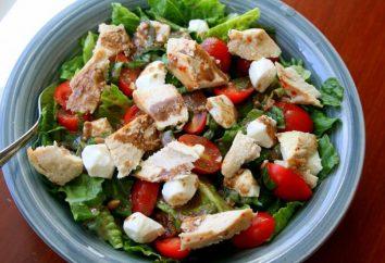 « Inspiration » – salade avec poitrine de poulet et le jambon aromatique