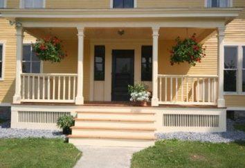 Porche pour la maison – dispositif