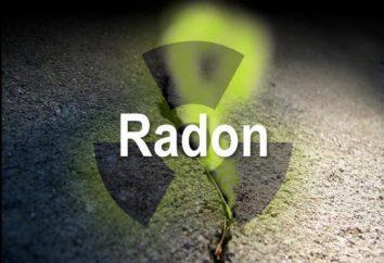 Qu'est-ce que le radon? Un élément du groupe 18 du tableau périodique des éléments chimiques D. I. Mendeleeva