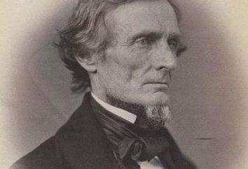 Jefferson Davis: biografia, zdjęcia i interesujące fakty