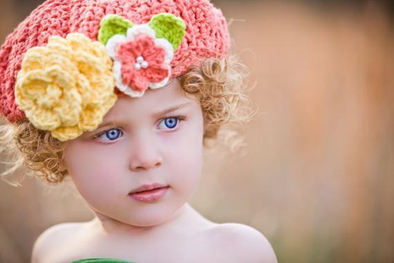 Durchbrochene Häkeln Baskenmütze Die Beste Kopfbedeckung Im Sommer