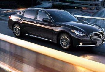 Nissan Cima dernière génération: description, caractéristiques et caractéristiques du modèle
