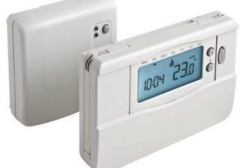 Thermostat avec capteur de température de l'air extérieur: vue d'ensemble, les caractéristiques