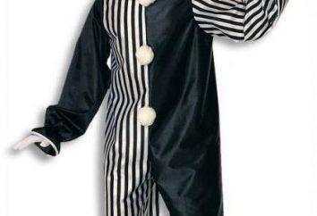 Costume Harlequin: descrição, padrões