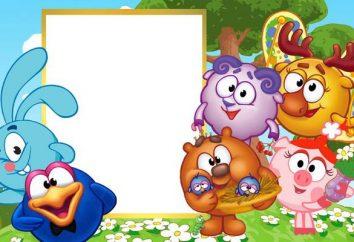 Voces de los personajes favoritos de dibujos animados. Smeshariki que está expresado?