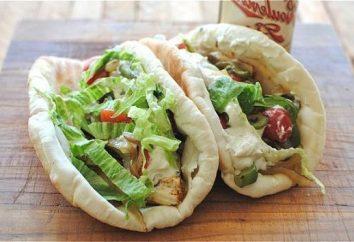 Comment envelopper un shawarma à la maison