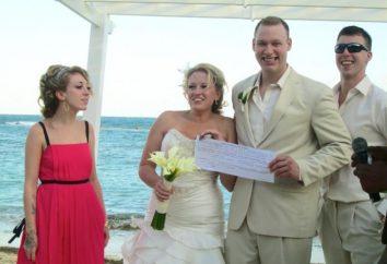Comic-Lotterie für eine Hochzeit: wie und wann sie durchgeführt werden