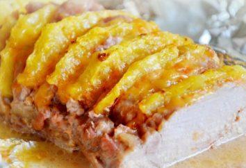 Pieghevole carne. preparazione ricetta e le raccomandazioni