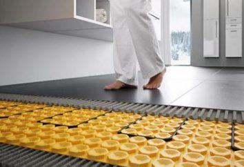 aquecimento por piso radiante no apartamento: design, vantagens e desvantagens