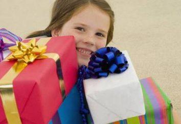 O que dar uma menina de 7 anos?