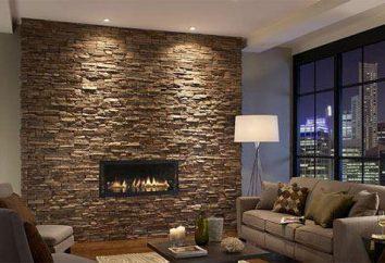 Kamienie dekoracyjne na ścianie: układanie opinii technologicznych