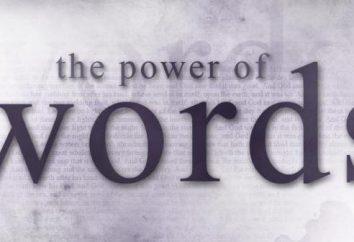 Rola słów w życiu ludzi. Słowo jako środek komunikacji