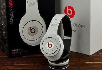 Potwór bezprzewodowe słuchawki Beats: typowe, oryginał i kopia