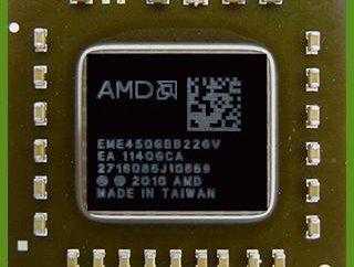 E-450 Procesor: AMD rozwija procesory entry-level dla laptopów